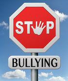 Detener la intimidación — Foto de Stock