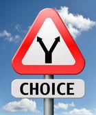 Difficult choice — Stock Photo