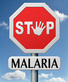 Stop malaria — Stock Photo