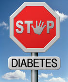 Diabetes — Stock Photo
