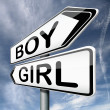 Boy or girl - Stock Photo
