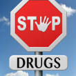 Royalty-Free Stock Photo: Stop drugs