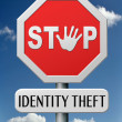 Identity theft — Stock Photo #19154257