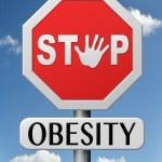 Постер, плакат: Stop obesity