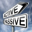 ������, ������: Active or passive
