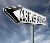 Customer satisfaction — Foto de Stock
