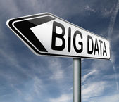 Big data — Foto de Stock