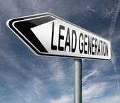 Lead generation — Stock Photo