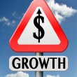 Stock Photo: Economical growth
