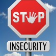 Stock Photo: Stop insecurity
