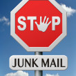 Stop junk mail — Stock Photo #20016543