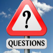 Stock Photo: Frequently asked question