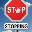 Stop stopping — Stock Photo