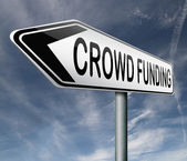 Crowd funding — Stock Photo