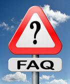 Sıkça sorulan sorular — Stok fotoğraf
