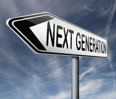 La próxima generación — Foto de Stock