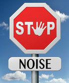 Parada de ruido — Foto de Stock