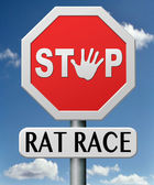 Rat race — Stock Photo