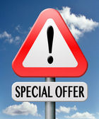 Special offer — Stock Photo