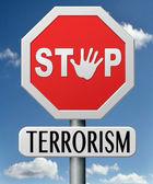 Stop terrorism — Stock Photo