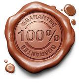 100 garantie — Stockfoto