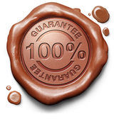 100 guarantee — Stock Photo