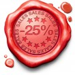 25 percentages off sales — ストック写真 #25895867