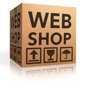 İnternet mağazası — Stok fotoğraf