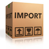 Importation — Stock Photo
