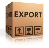 Export package — Stock Photo