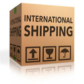 International shipping — Stock Photo
