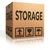 Storage box — Stock Photo