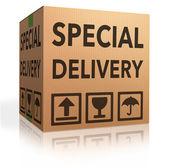 Special delivery — Zdjęcie stockowe