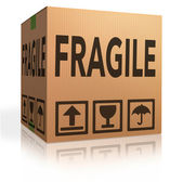 Fragile package — Stock Photo