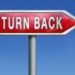 Turn back — Stock Photo #28859009