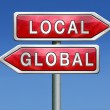 Global or local — Stock Photo #28856733