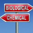 Biological or chemical — Stock Photo