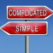 Complicated or simple — Stock Photo #28858155
