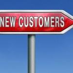 New customers — Stock Photo