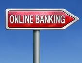 Online banking — Stock Photo