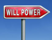 Will power — Stock Photo