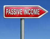 Passive income — Stock Photo