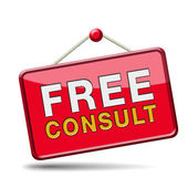 Free consult icon — Stock Photo