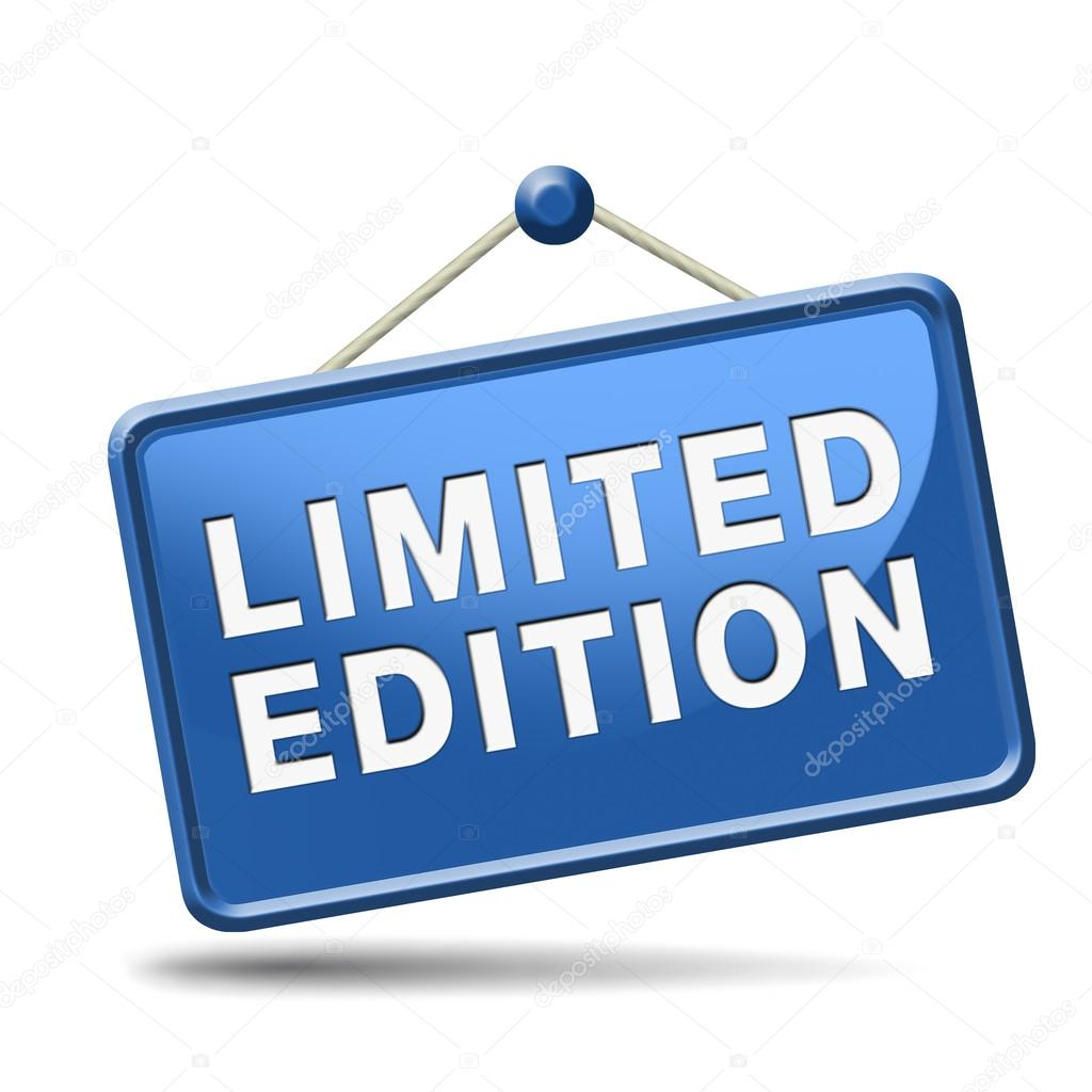 Limited Edition Icon Limited Offer Icon