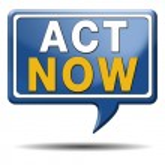 Act now — Stock Photo #33308349