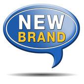 New brand icon — Stock Photo