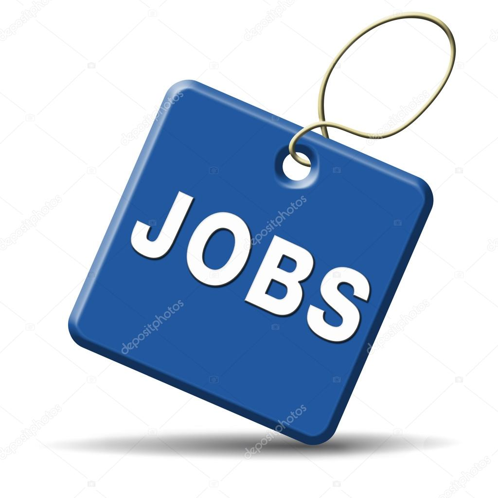 job opening icon stock photo copy kikkerdirk  jobs ahead opportunity and warning for a career move or job interview or ad diamond in yellow hiring now in an advert button or icon photo by kikkerdirk