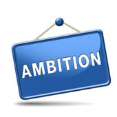 Ambition sign — Stock Photo