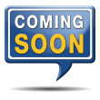 Coming soon icon — Stock Photo #33464911