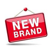 New brand icon — Foto de Stock